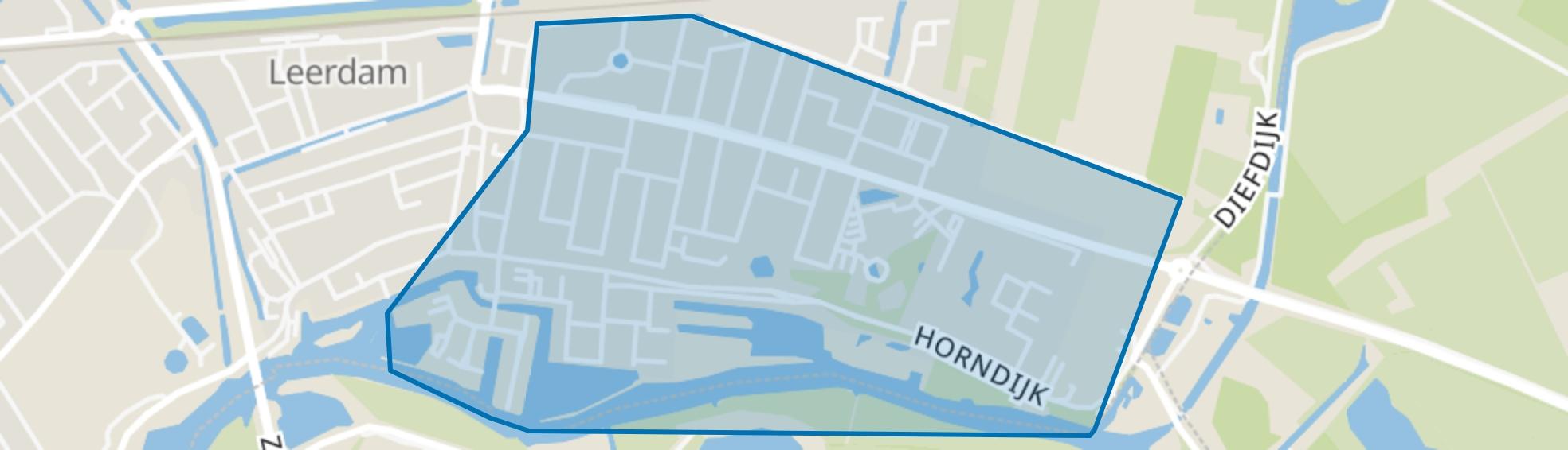 Leerdam-Oost, Leerdam map