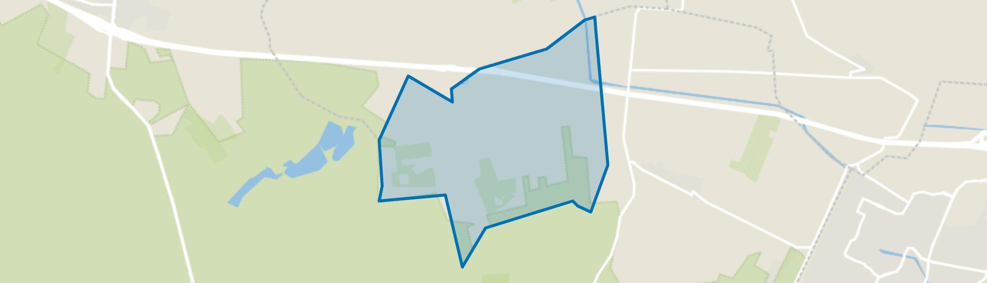 Verspreide huizen in de Geldersche Vallei Overberg, Leersum map