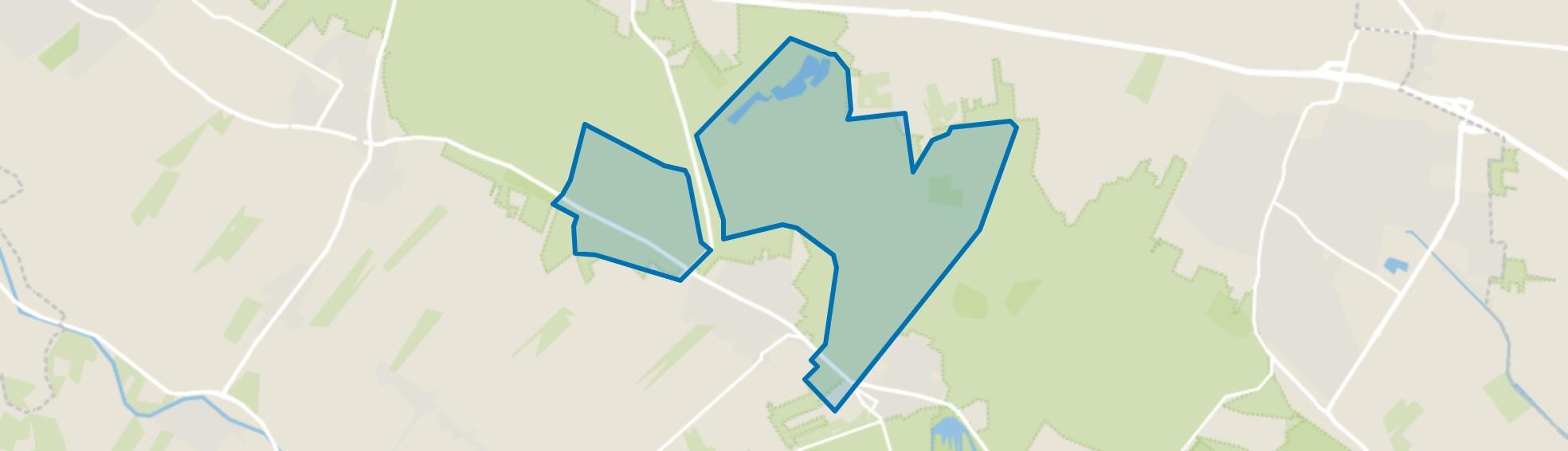 Verspreide huizen op de Heuvelrug, Leersum map