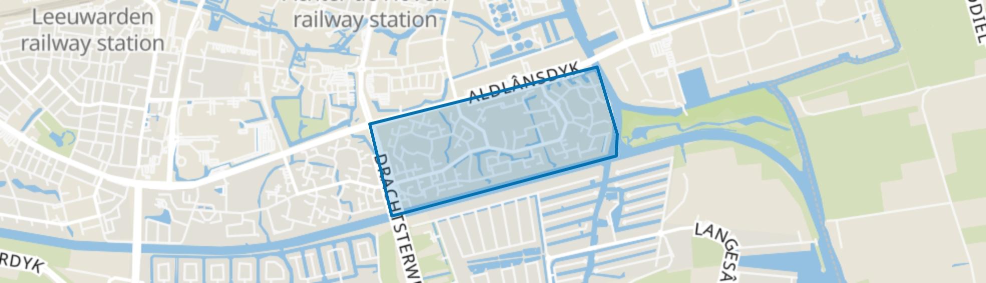 Aldlân-Oost, Leeuwarden map