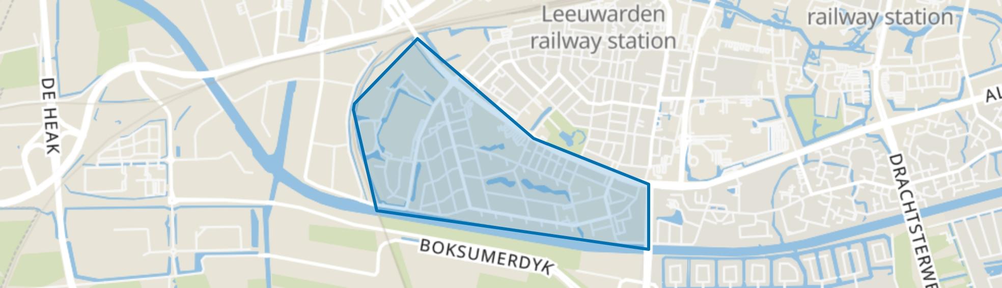 Nijlân, Leeuwarden map