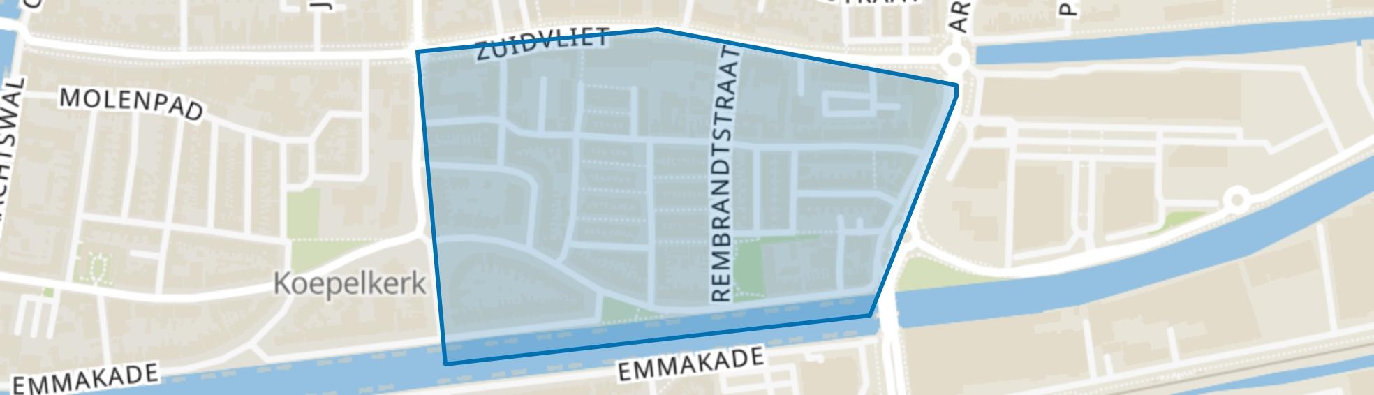 Welgelegen, Leeuwarden map