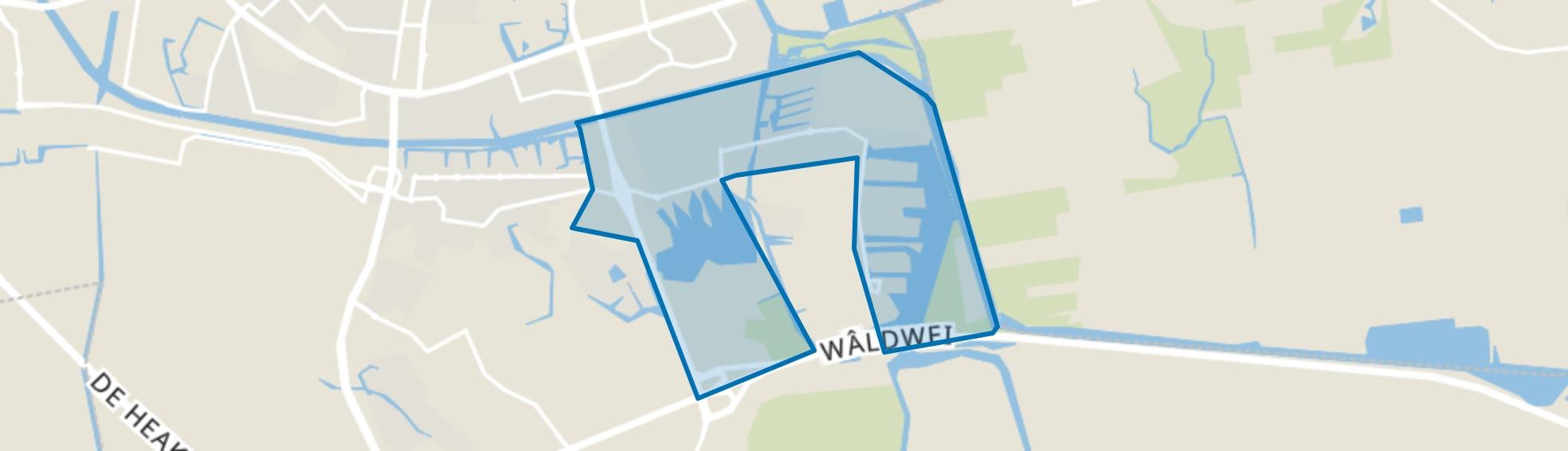 Zuiderburen, Leeuwarden map