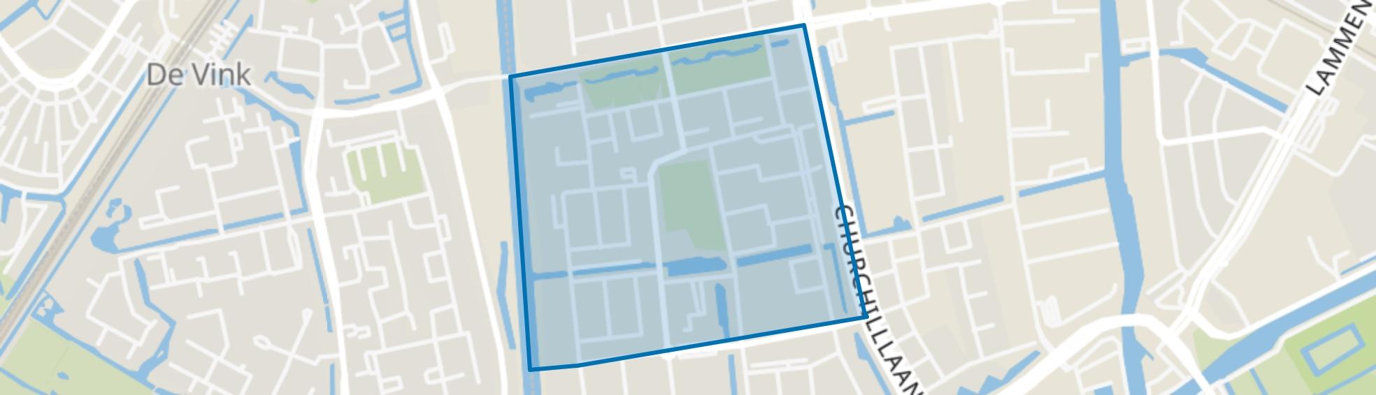 Fortuinwijk-Noord, Leiden map