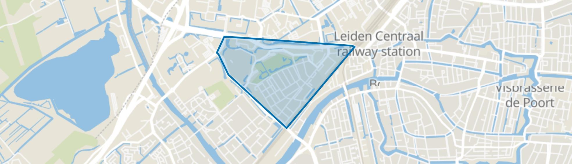 Lage Mors, Leiden map