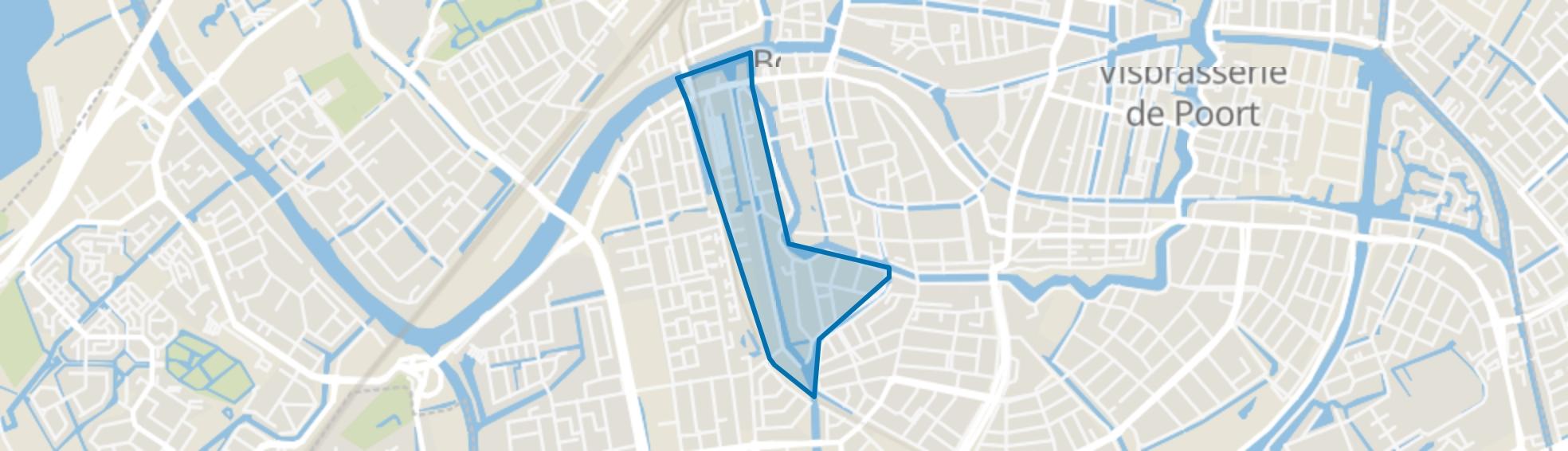 Vreewijk, Leiden map