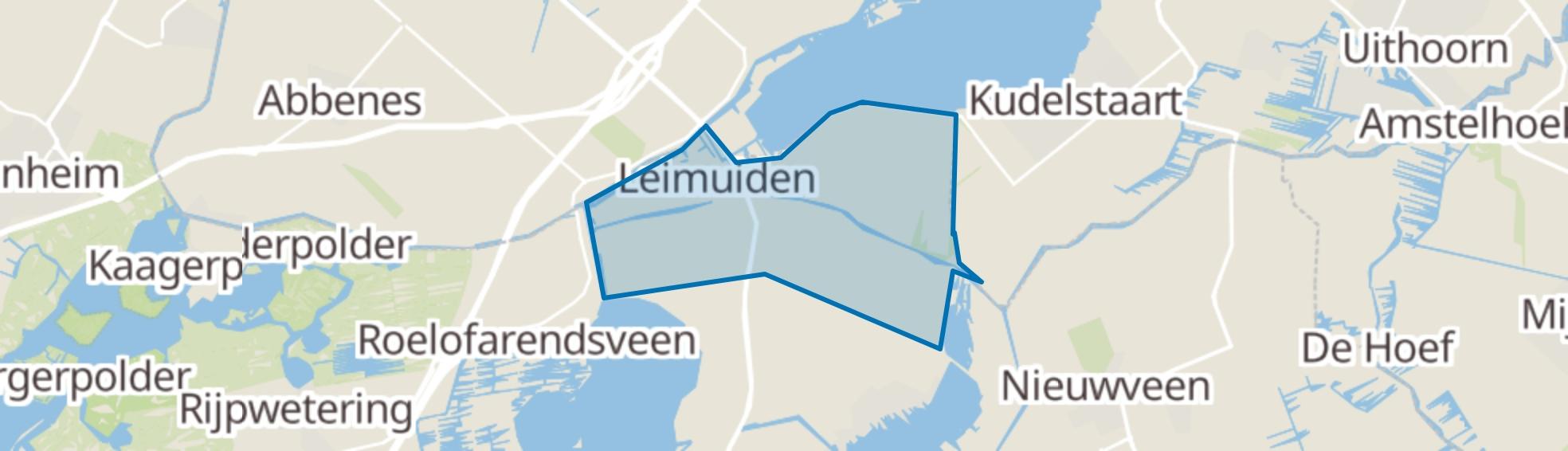 Leimuiden map