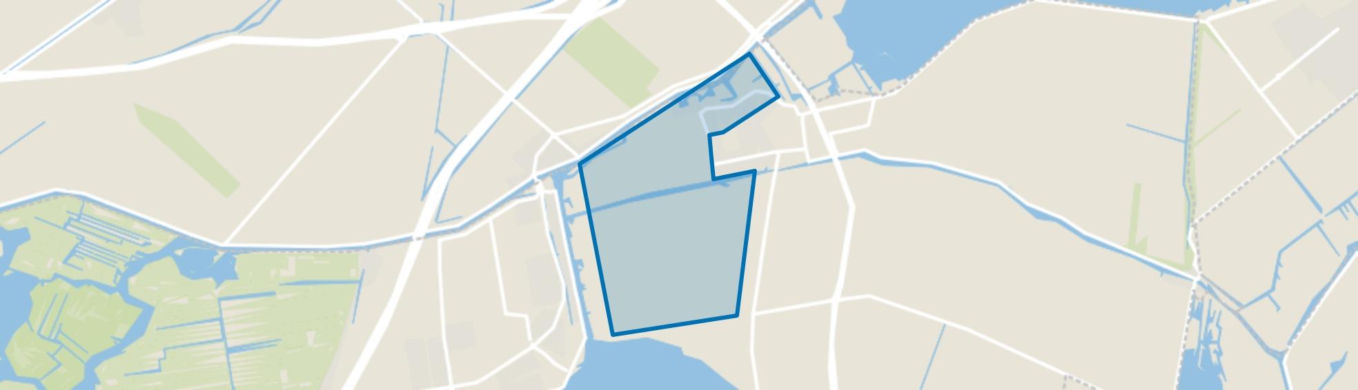 Verspreide huizen West, Leimuiden map