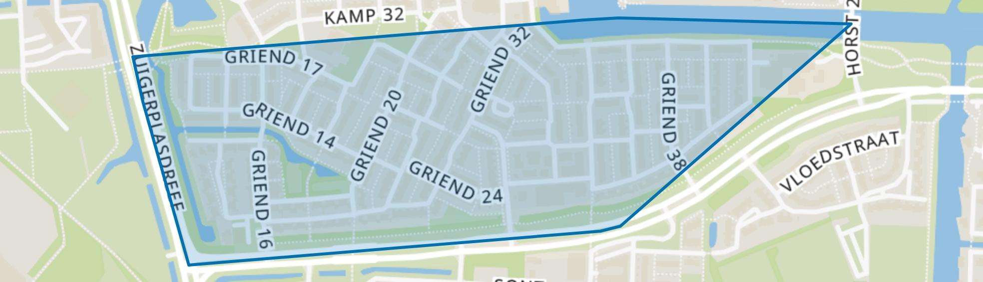 Griend, Lelystad map