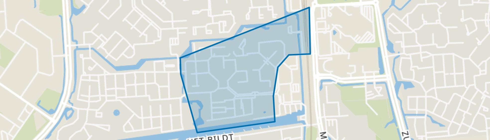 Tjalk, Lelystad map