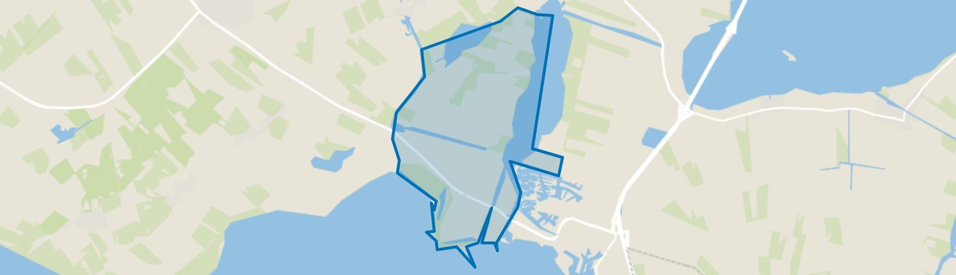 Lemmer-Buitengebied, Lemmer map