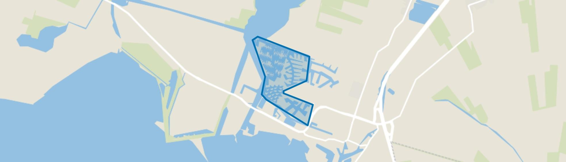 Lemmer-Frieslandpark, Lemmer map