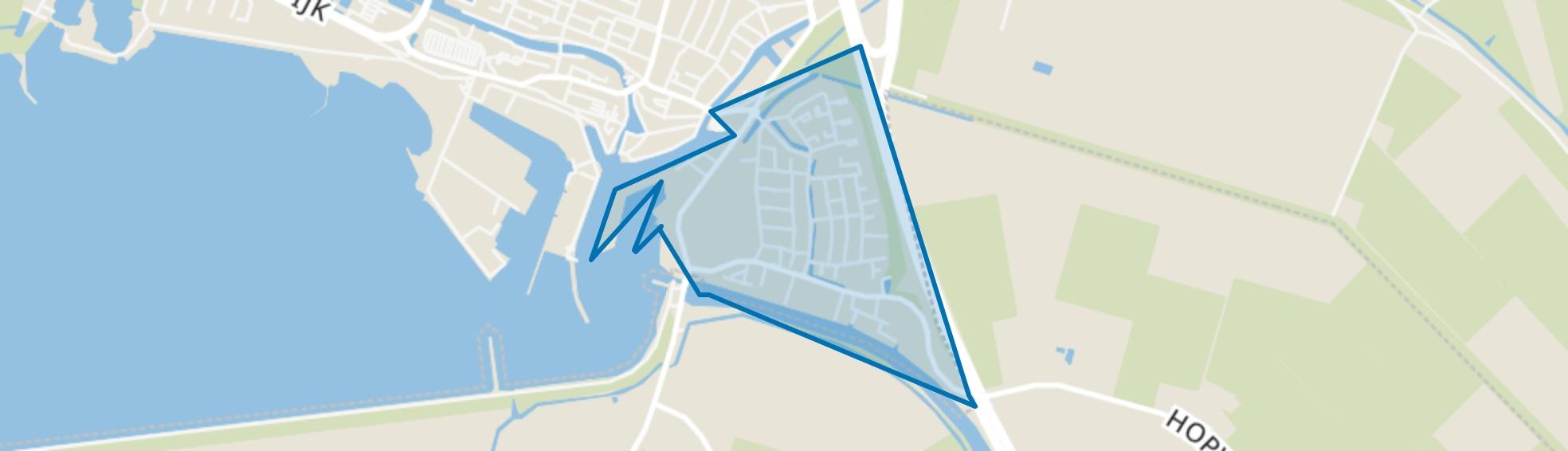 Lemmer-Lemstervaart, Lemmer map