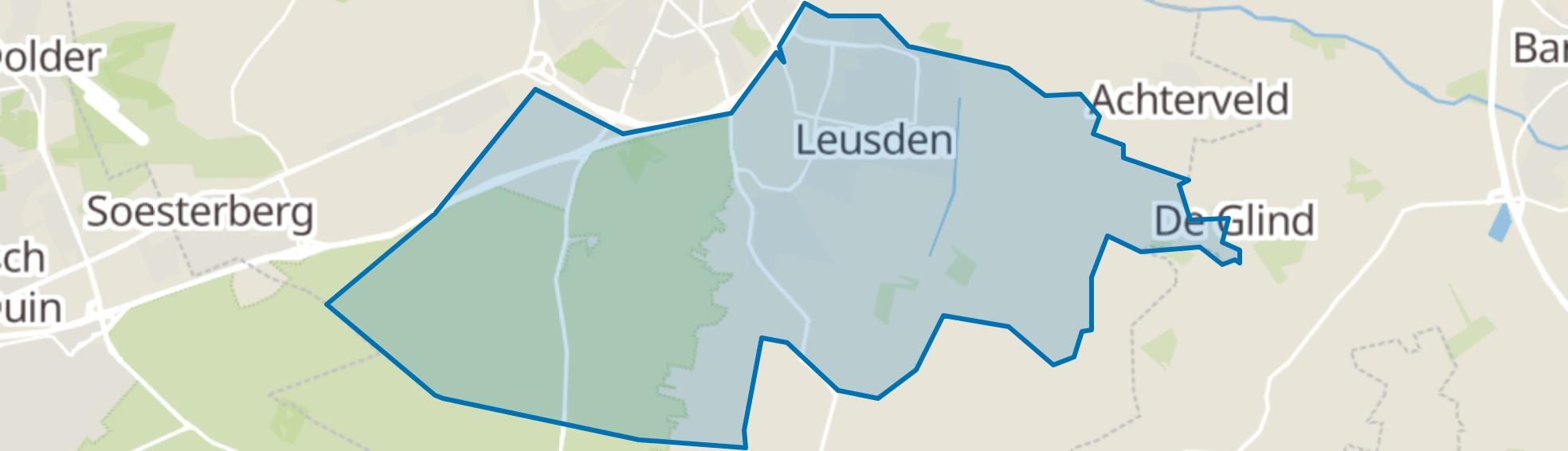 Leusden map
