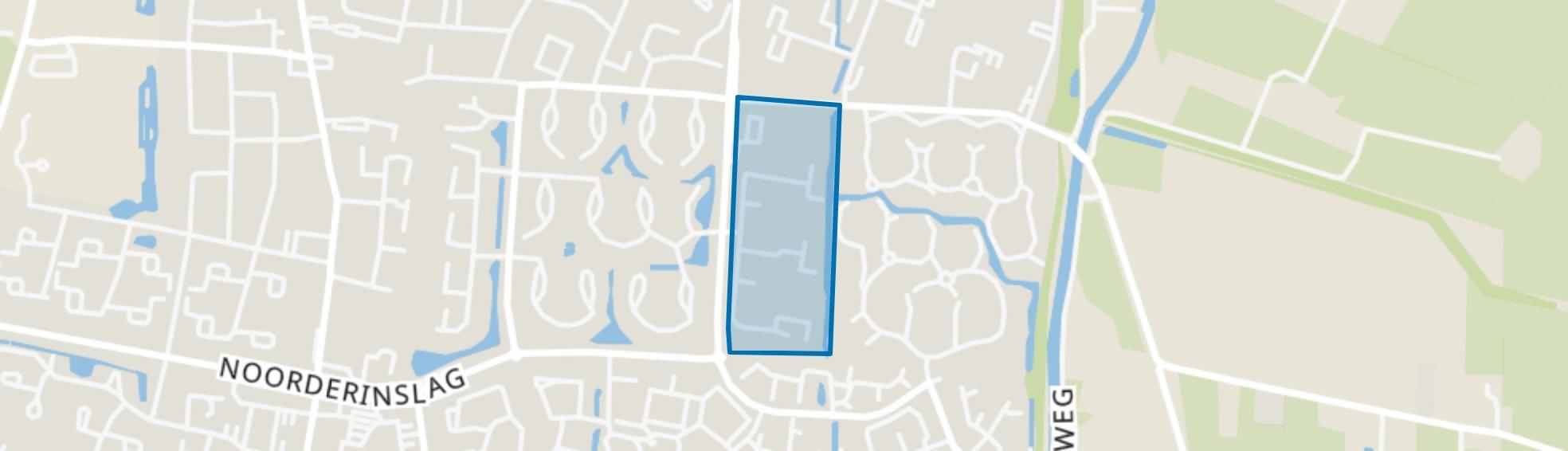 Alandsbeek-West, Leusden map