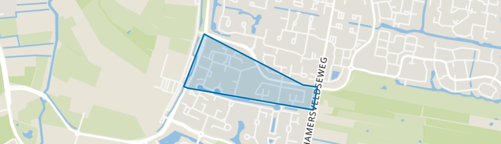 Claverenblad, Leusden map