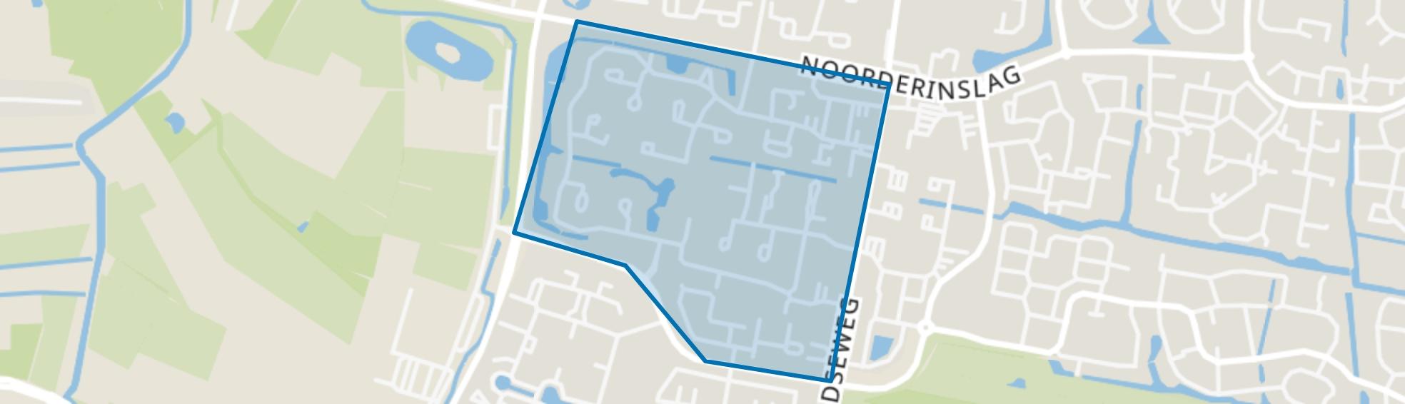 Groenhouten, Leusden map