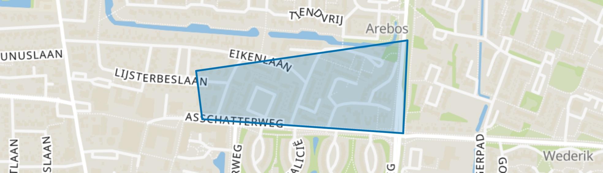 Hamersveld-Nieuw, Leusden map