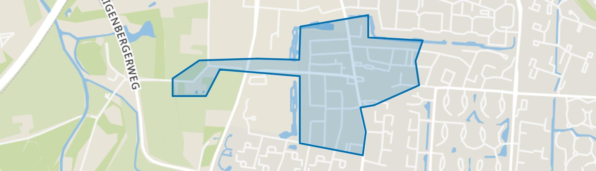 Hamersveld-Oud, Leusden map