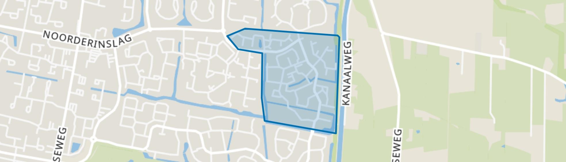 Langenbeek, Leusden map