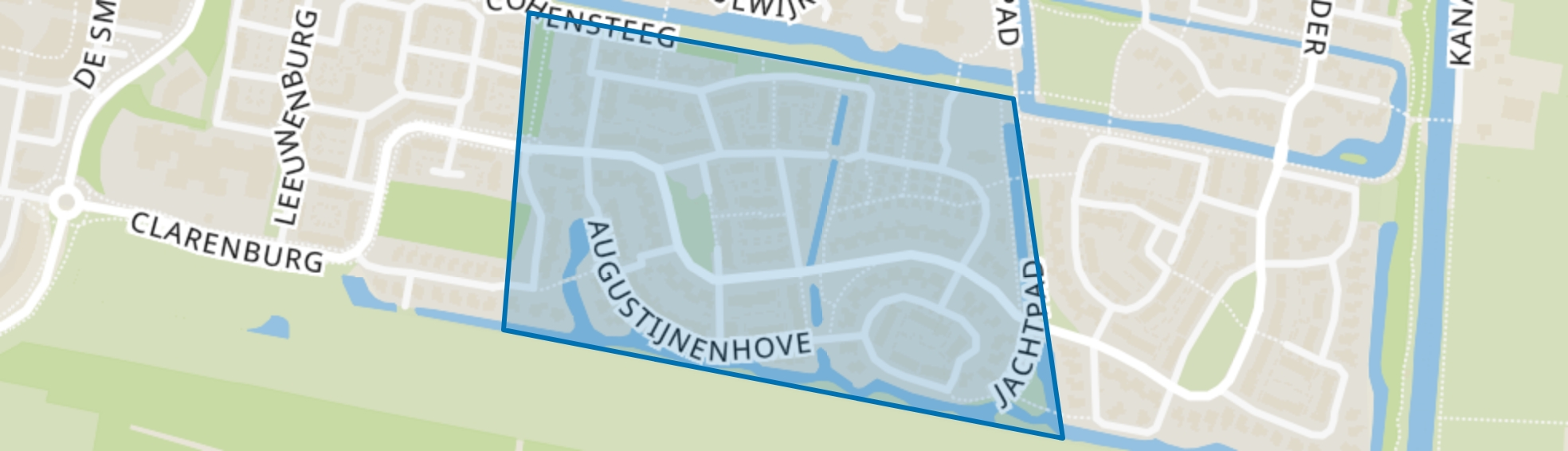 Munnikhove, Leusden map