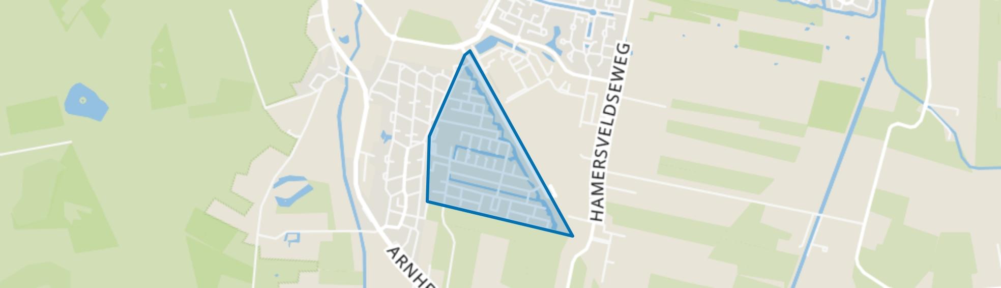 Tabaksteeg, Leusden map