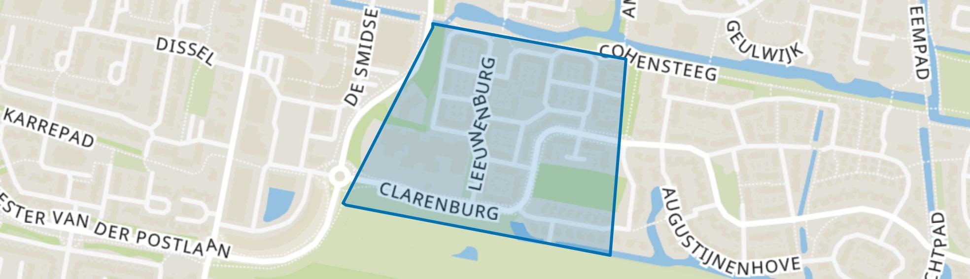 Zwanenburg, Leusden map