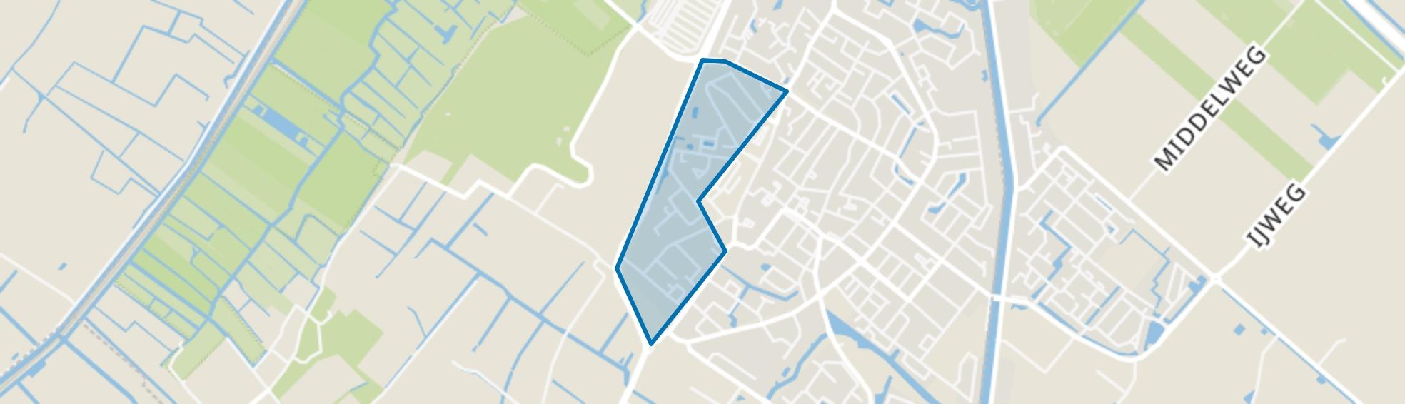 Berkhout, Lisse map