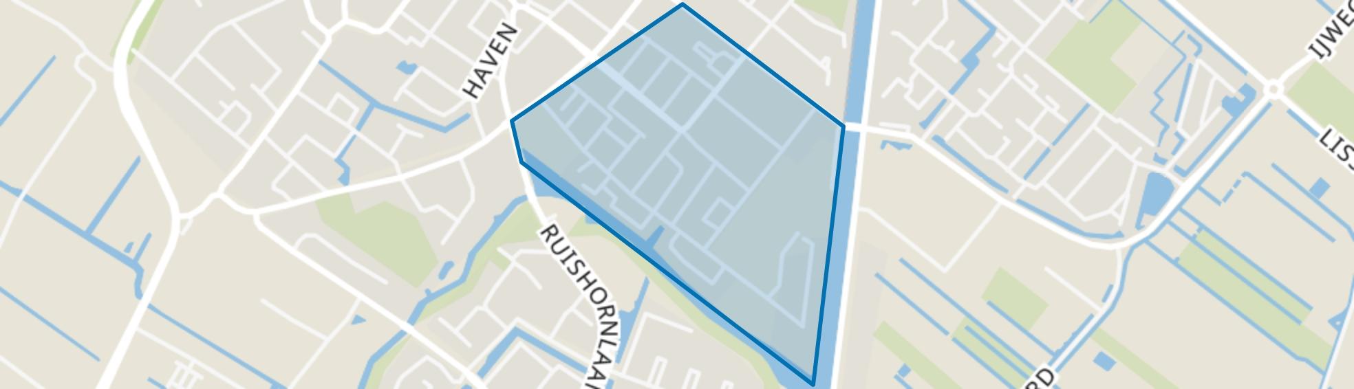 Bloemenbuurt, Lisse map