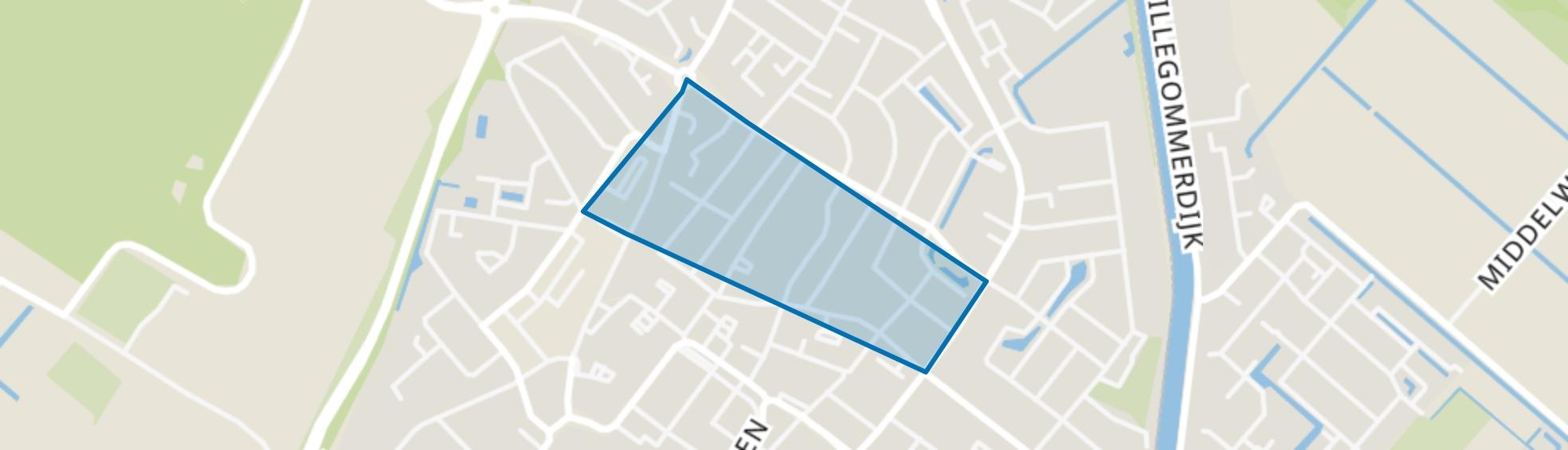 Blokhuis, Lisse map