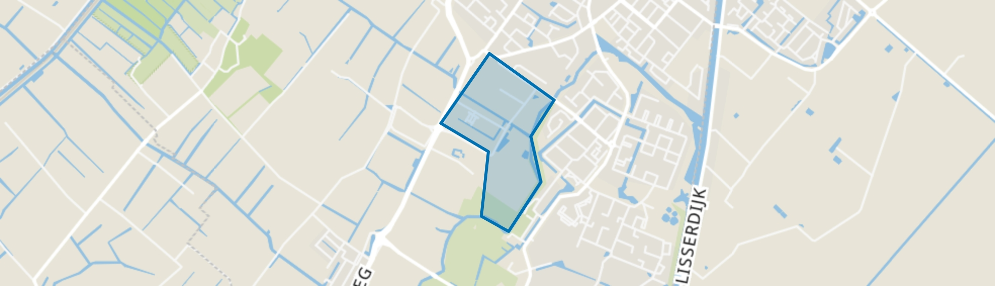 Dever, Lisse map