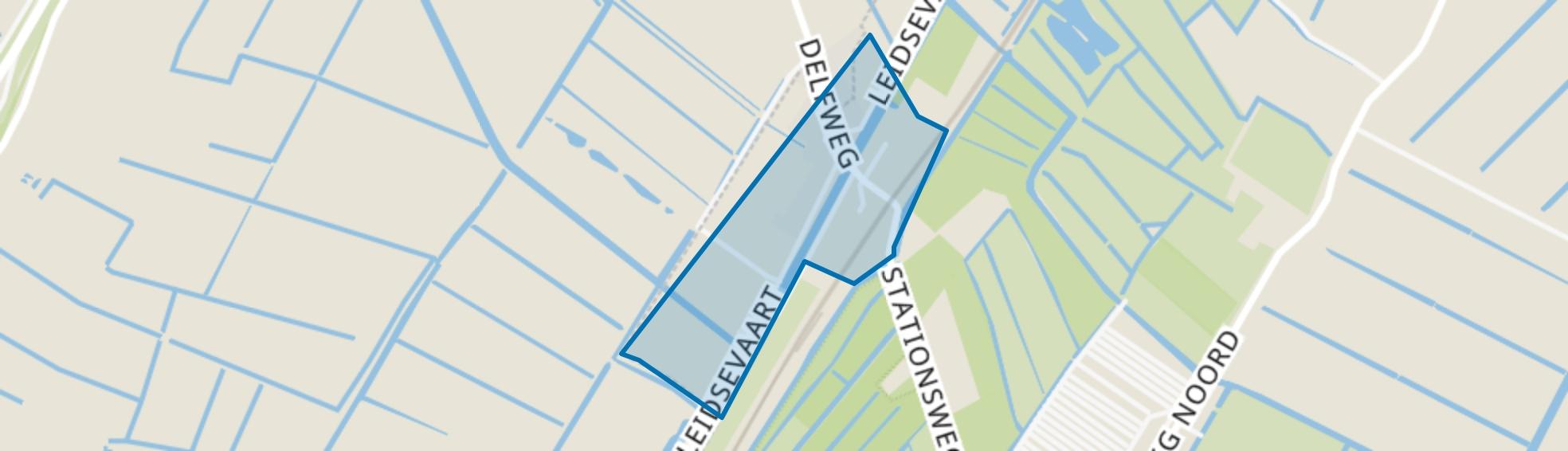 Halfweg, Lisse map