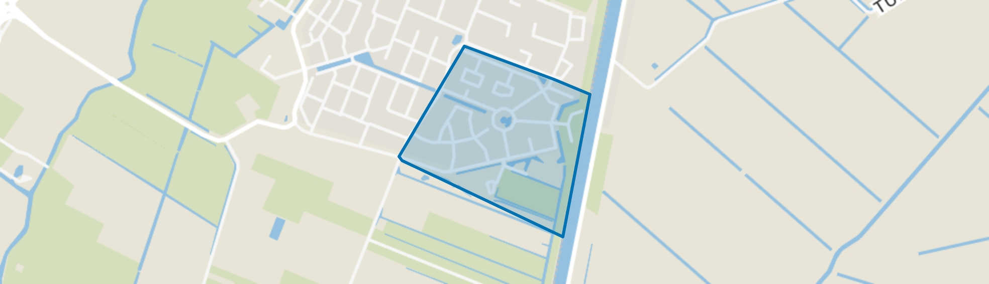 Lisse Rond, Lisse map