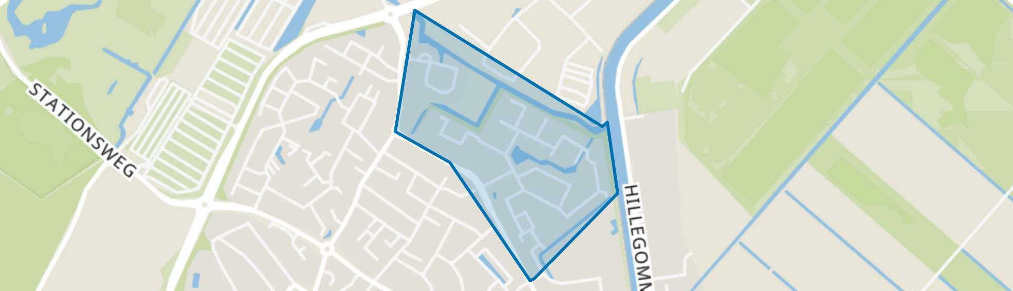 Meerenburgh, Lisse map