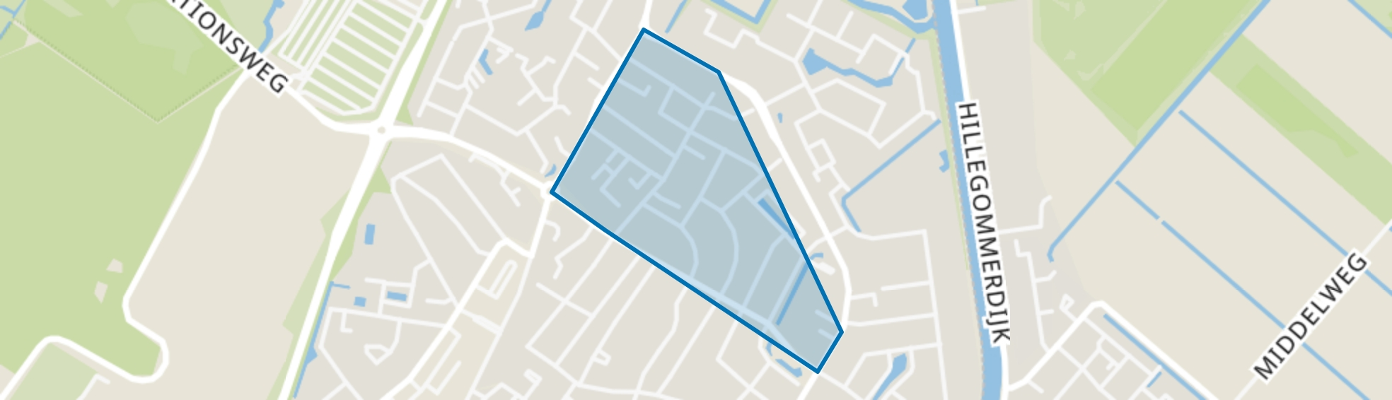Oranjebuurt, Lisse map