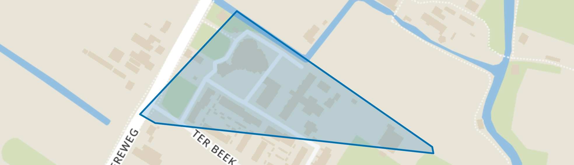 Ter Beek, Lisse map