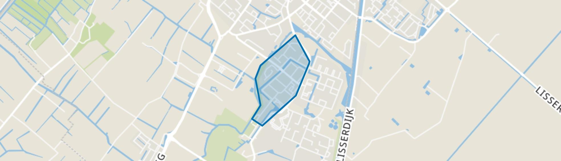 Vogelbuurt, Lisse map
