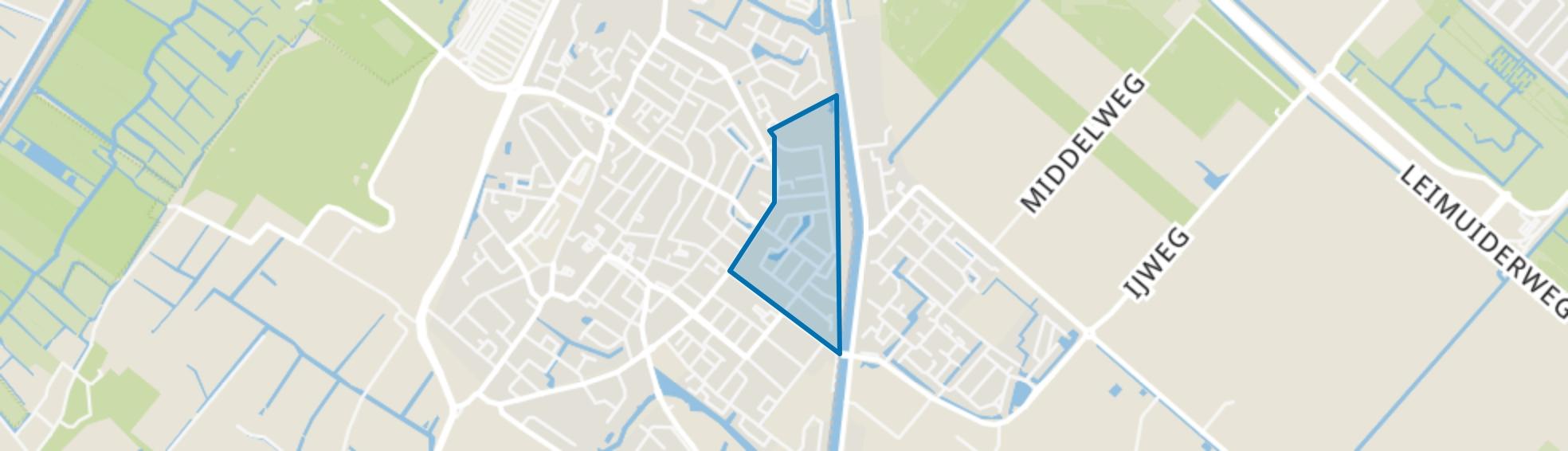 Zeeheldenbuurt, Lisse map