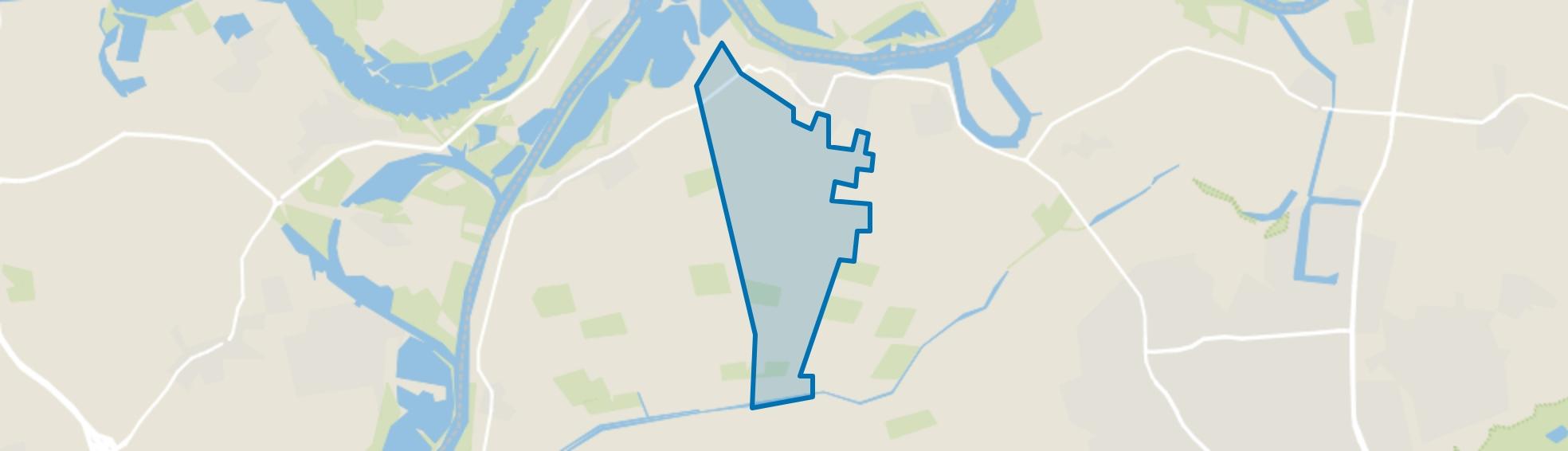 Buitengebied Lith, Lith map
