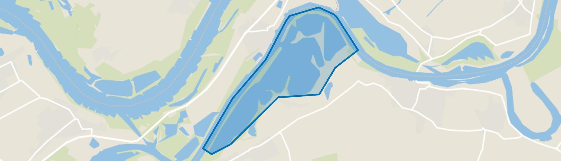 De Lithse Ham, Lith map