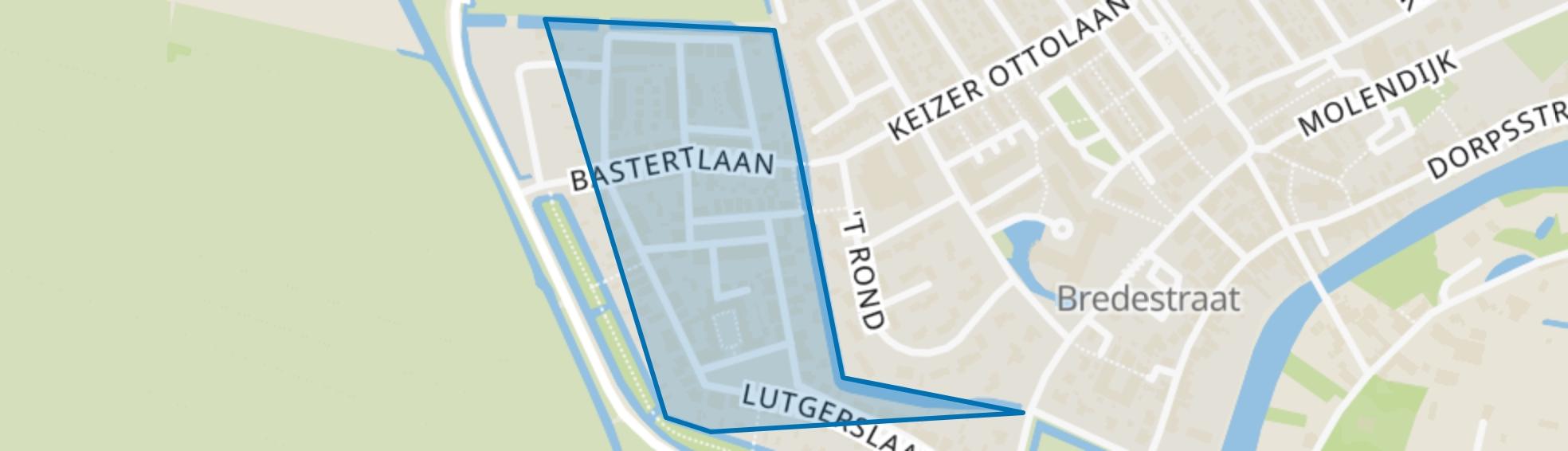 Cronenburgh, Loenen aan de Vecht map
