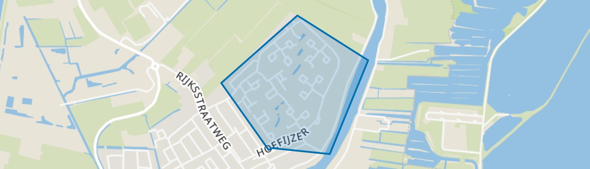 Hoefijzer, Loenen aan de Vecht map