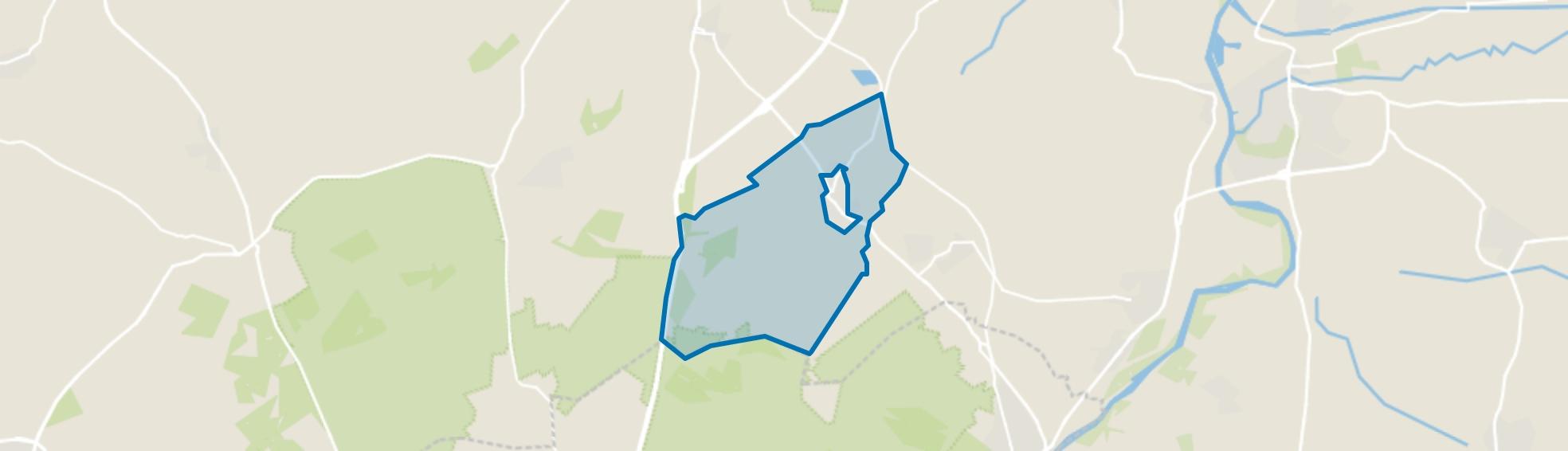 Bosgebied Loenen, Loenen map