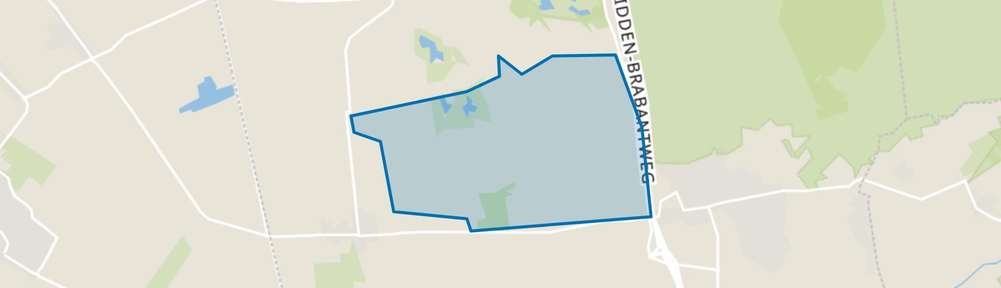 Bergeind, Loon op Zand map