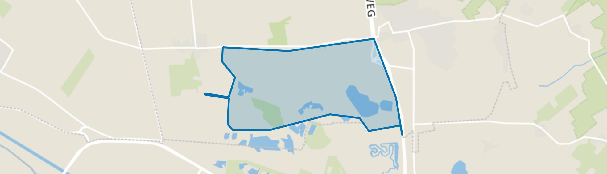 De Plakken, Loon op Zand map