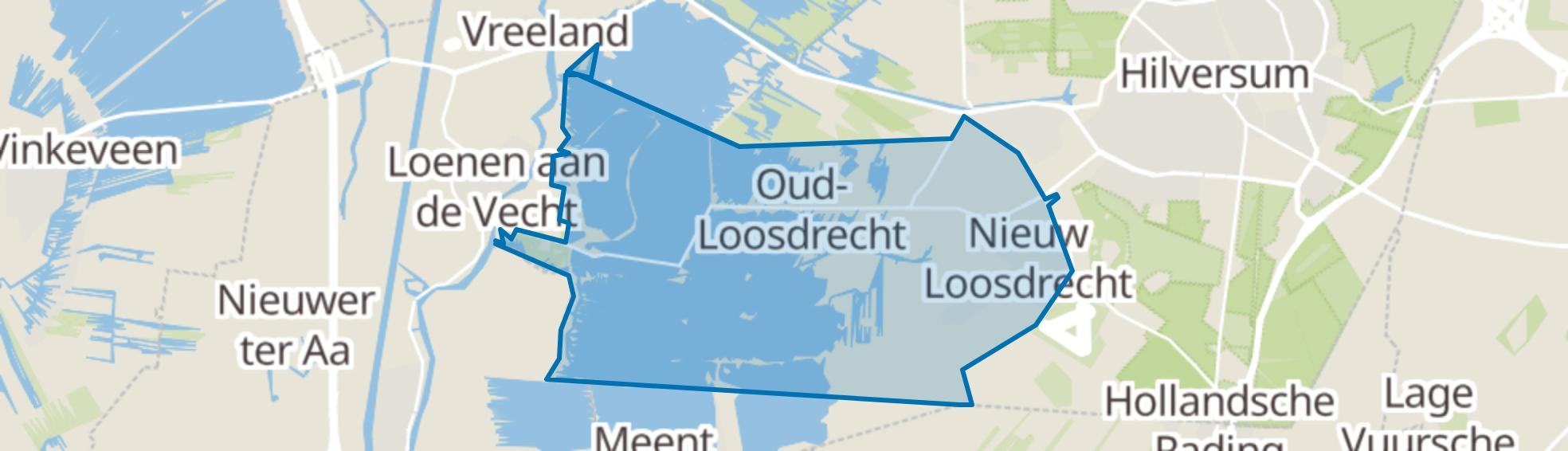Loosdrecht map