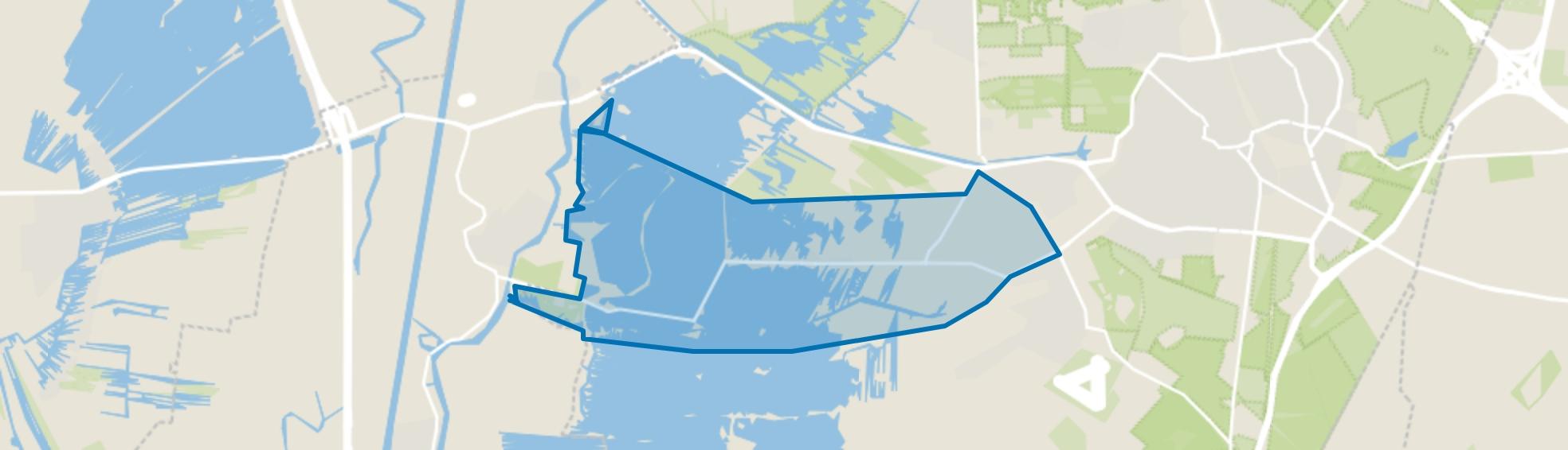 Oud-Loosdrecht, Loosdrecht map