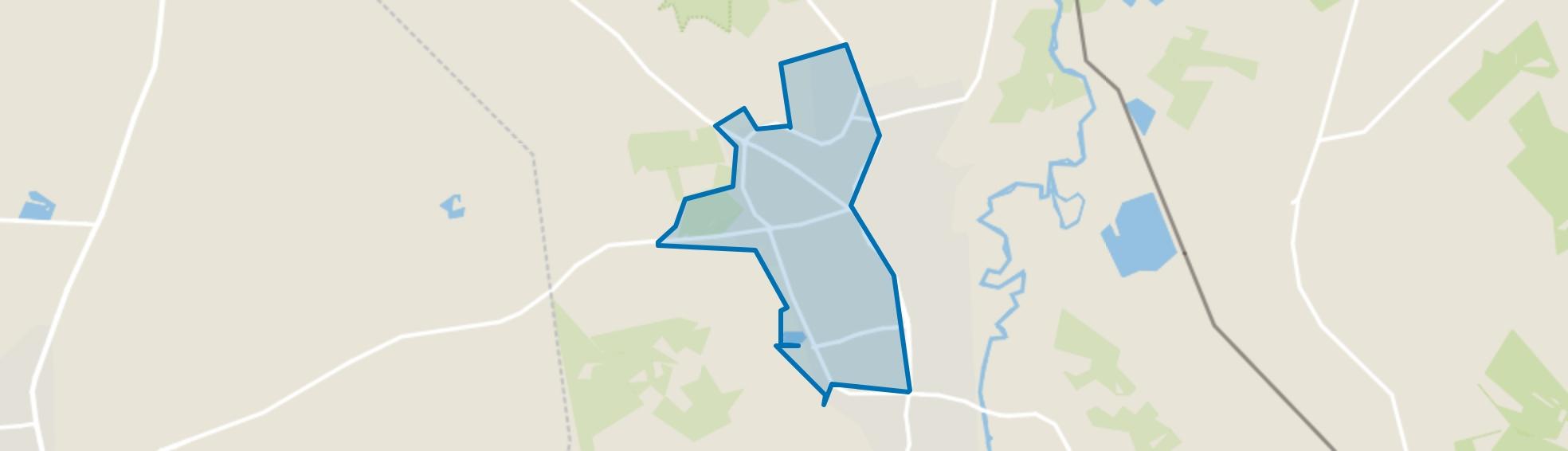 Losser-West, Losser map