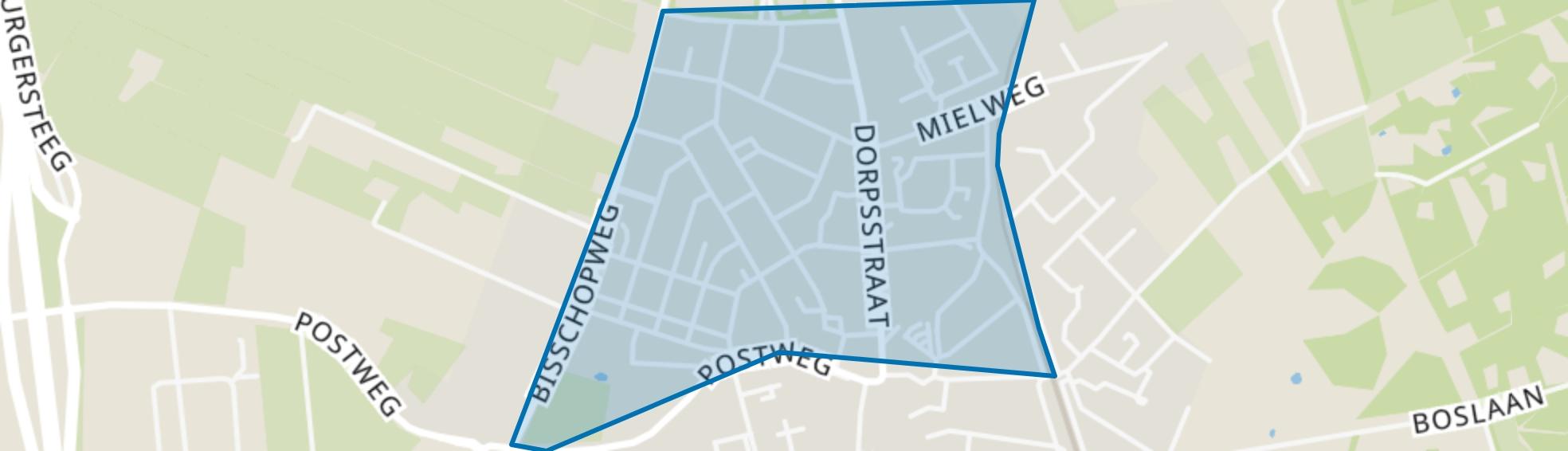 Wormshoef, Lunteren map