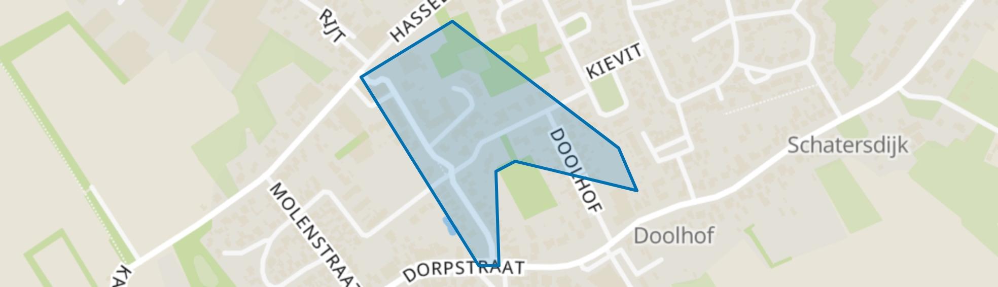 Kerkstraat e.o., Luyksgestel map